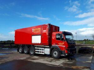 Heiwerk container vrachtwagen 3