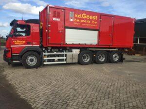 Heiwerk vrachtwagen 1