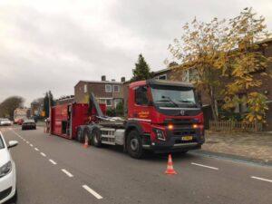 Heiwerk vrachtwagen