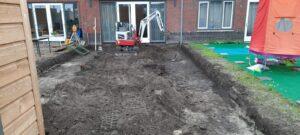 Fundering uitgraven 3